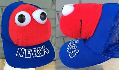 VTG 80's NERDS Candy Willy Wonka Plush Snapback - Willy Wonka Hat