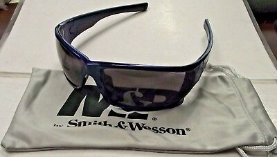 Black Smith /& Wesson MP104-41-ID Half Frame Shooting Glasses With Amber AF Lens