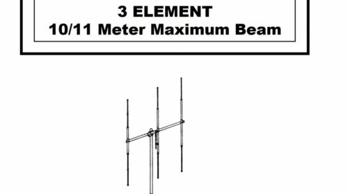 M103C MaCo CB Radio Base Station,   Beam Antenna