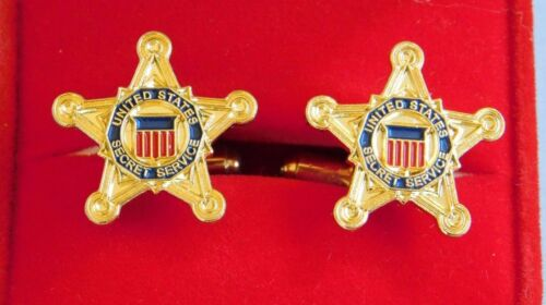 Secret Service Star Cufflinks from the White House Presidential in Box