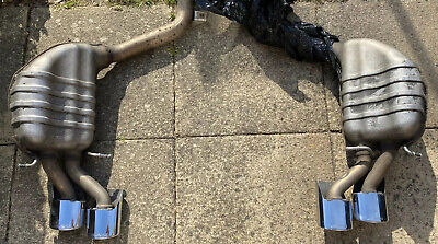 Exhaust W204 C63 AMG 2013 Genuine Back Boxes With Genuine Tips And Pipes for sale  United Kingdom
