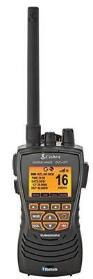 Cobra Marine VHF Hand Held Radio DSC HH600E Floats Bluetooth Cobra Marine Handheld