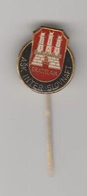 Orig.PIN     ASK INTER SLOVNAFT  BRATISLAVA (CSSR/Slowakei)  -  70ziger Jahre !!