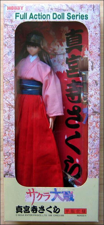 Shinguji Sakura Wars Kimono Full Action Doll Series Figure AD-01 Tsukuda Hobby
