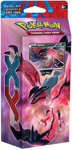 60-Card Yveltal Destruction Rush Pokemon XY Theme Deck   Holo Playmat and more!