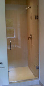 Luxurious Glass Shower Door with Hinges and Handles - New! London Ontario image 2