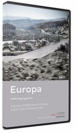 Audi MMI 3G DVD Europe Maps 2017 East & West