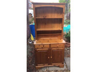 Lovely solid pine ducal Welsh dresser