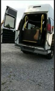 Excellent Condition Sturdy Wheel Chair Lift and Seats for Van
