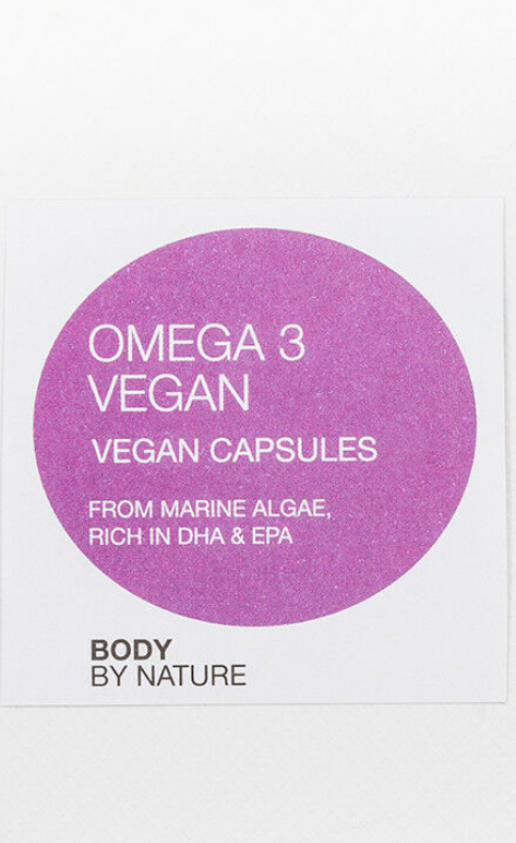 Vegan Omega 3,Plant Marine Algae,EPA,DHA,Bone,Vitamins & Supplements,antioxidant