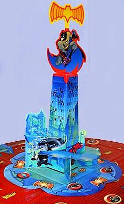 NEW Collectible: Batman Birthday Party Centerpiece Decoration W/ Lights & Sound  - Batman Centerpieces