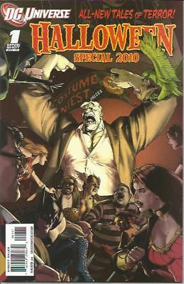 N SPECIAL 2010 (2010) #1  Back Issue (S) (Dc Universe Halloween Special)
