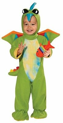Boy Infant Halloween Costumes (Boys Green Dinosaur Costume Infant Childs Baby Halloween 6-12 & 12-18M Kids)