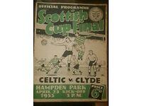 Celtic v. Clyde, Scottish Cup Final 1955