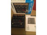 TC Electronic Nova Drive distortion guitar pedal