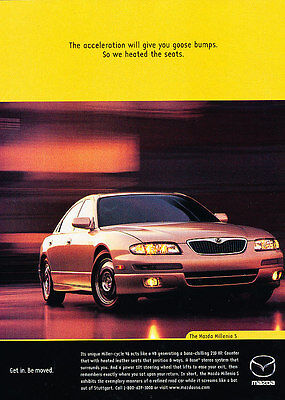 1998 Mazda Millenia S - Classic Vintage Advertisement Ad H02