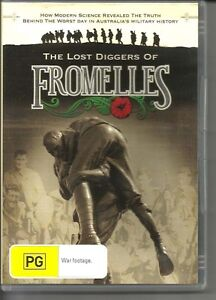 Battle of Fromelles DVD Australian made Lost Diggers of Fromelles 1916 WW1