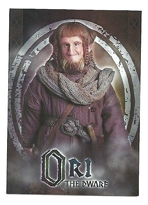 Ori The Hobbit (The Hobbit An Unexpected Journey Character Biography CB-10 Ori The)