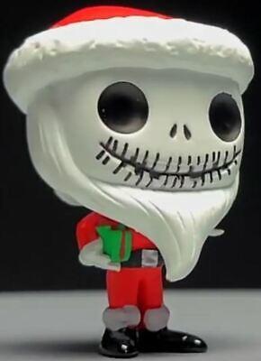 "MINI Funko Pop Nightmare Before Christmas Advent Calendar Figure Santa Jack 1.5"""