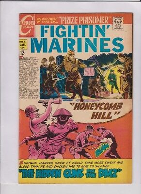 FIGHTIN' MARINES #83 Fine, Viet Nam War cover, Charlton, solid low cost copy