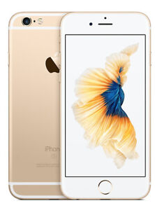 Factory Unlocked Apple iPhone 6S Gold 16GB in Mint Condition