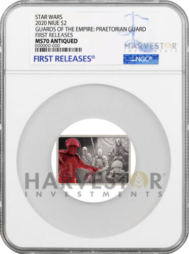 2020 STAR WARS: GUARDS OF THE EMPIRE: PRAETORIAN GUARD - NGC MS70 FIRST RELEASES