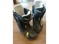Burton Driver X snowboard boots size 9