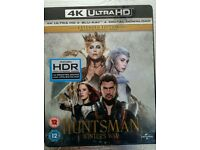 Huntsman Winter War 4K UHD + Blu ray + Digital download