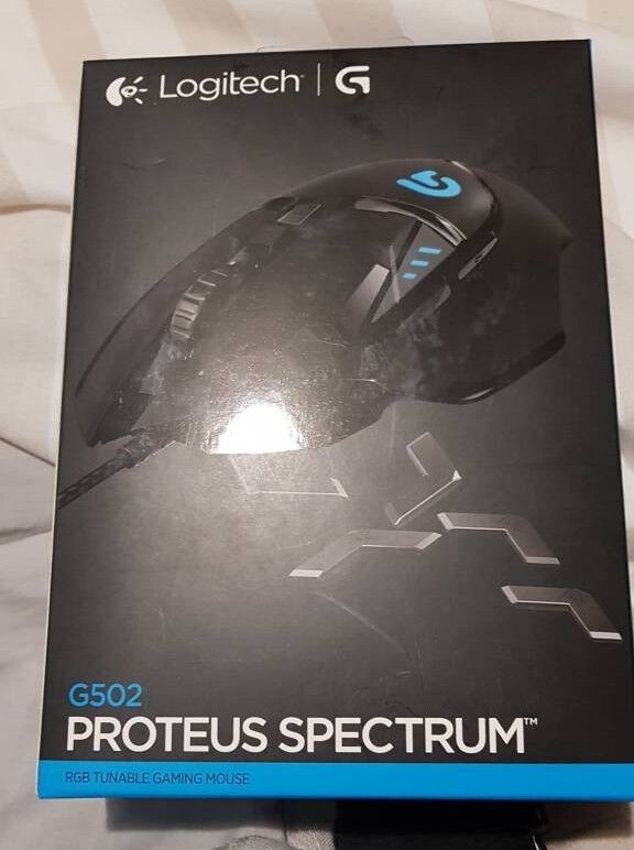 aa9c9cc6b56 Logitech G502 Proteus Spectrum Gaming Mouse | in Newport | Gumtree