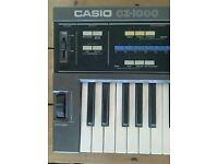 CASIO CZ-1000 Synthesiser keyboard