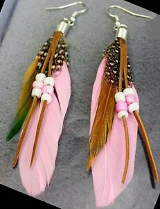 Native Art Earrings made by hand by local Artisan Yellowknife Northwest Territories image 10