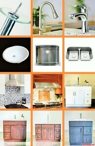 HOME RENOVATION / Bathroom Vanities, Counter tops, Tiles & more