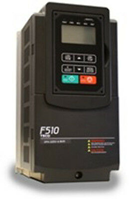 5 Hp 230v 3 Ph Input 230v 3 Ph Output Teco Variable Frequency Drive F510-2005-c3