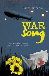 War Song, Riordan, James, New Book