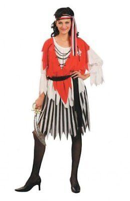 Erwachsene Damen Seeräuber Karibik Piraten Damen Maskenkostüm Kapitän (51963)