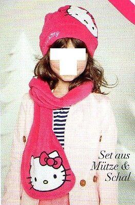 AVON -  Hello Kitty  Schal und Mütze  ab  6 Jahren  OVP