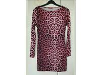 Leopard print dress £3