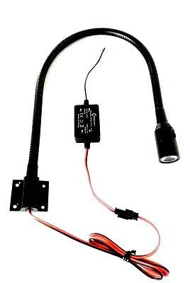 LED 12-24V Leseleuchte mit Schalter Schwanenhals map light Co-Pilot Wohnmobil