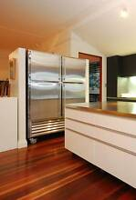 Stainless steel block door commercial fridge/freezer combo Newstead Brisbane North East Preview