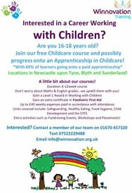 ***FREE TRAINING - LEVEL 1 CHILDCARE COURSE***