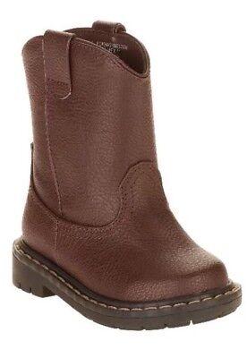 Garanimals Infant/Toddler Boys' Brown Pull-Cowboy Boots Size 6