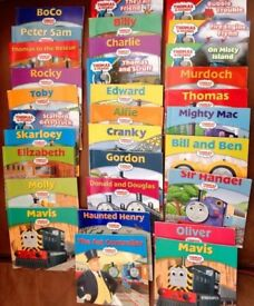 Over 50 Thomas the Tank engine titles