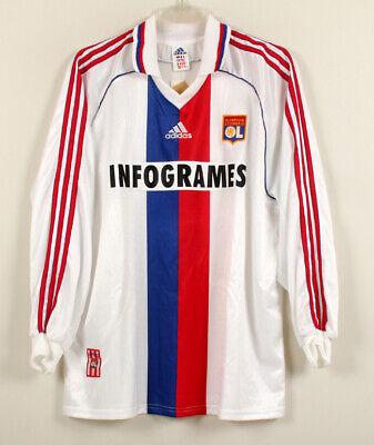 1999-00 OLYMPIC LYON Away L/S No.9 ANDERSON UEFA CL 99-00 jersey shirt trikot image