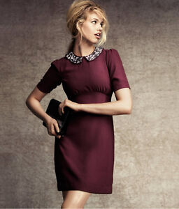 Perfect Burgundy Dress for the Holidays