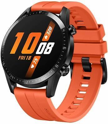 Huawei Watch GT 2 Sunset Orange - GPS, 1.39'' Display, Bluetooth, Waterproof
