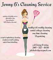 Jenny B's Cleaning Service  20 years experience!