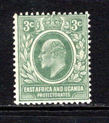 KUT (East Africa & Uganda) KEVII  1907-08  3c. Grey Green SG35 M/Mint Cat £21