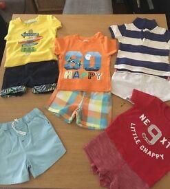 Baby Boy summer bundle 9-12 months