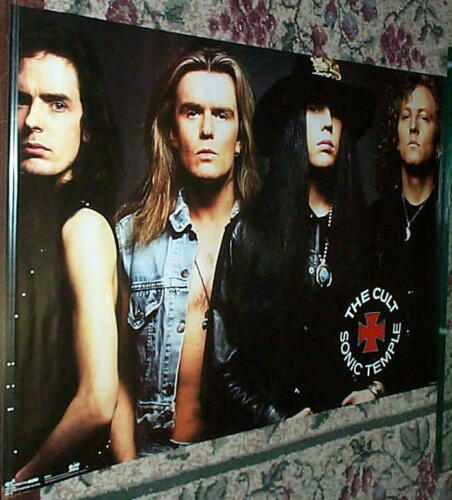 THE CULT Vintage Group Poster