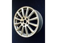 "Jaguar X type sport 17"" alloy wheel"